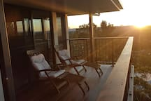 Amazing sunsets from the 2 decks
