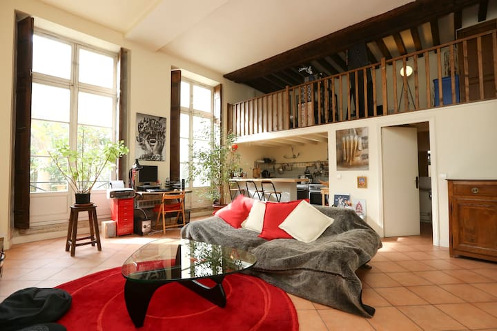 Loft in the heart of Paris, Marais.
