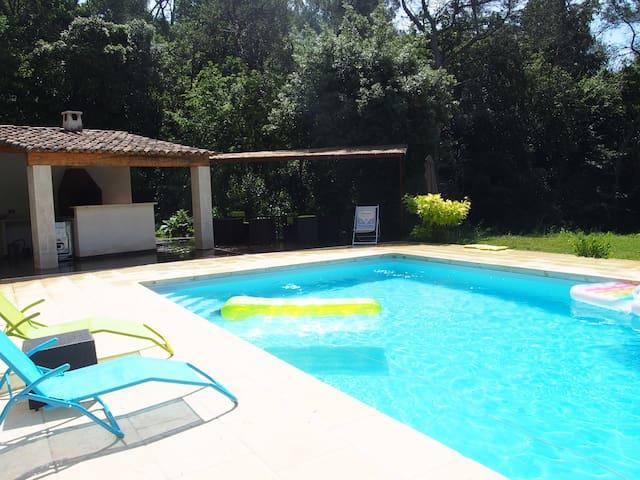 Ch parentale /sdb privée - accès piscine autorisé