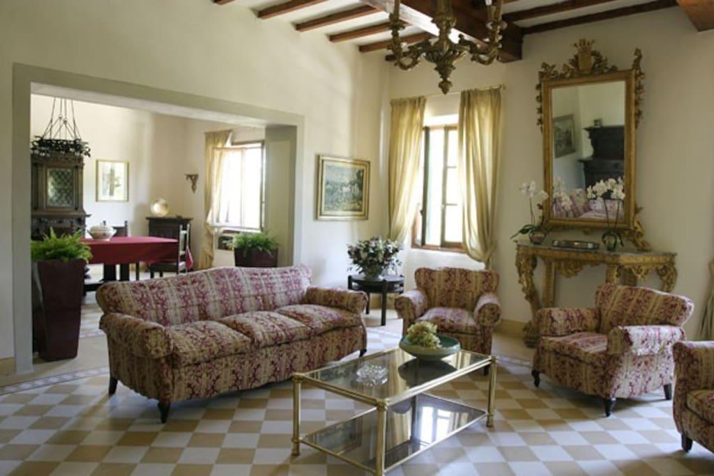 Salone Villa Bacìo
