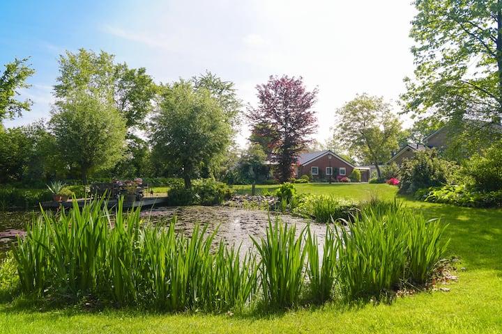 Brabants vakantiehuis met prachtige tuin