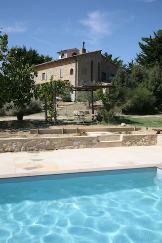 Tuscany: paradise with a view B&B - Casale Marittimo