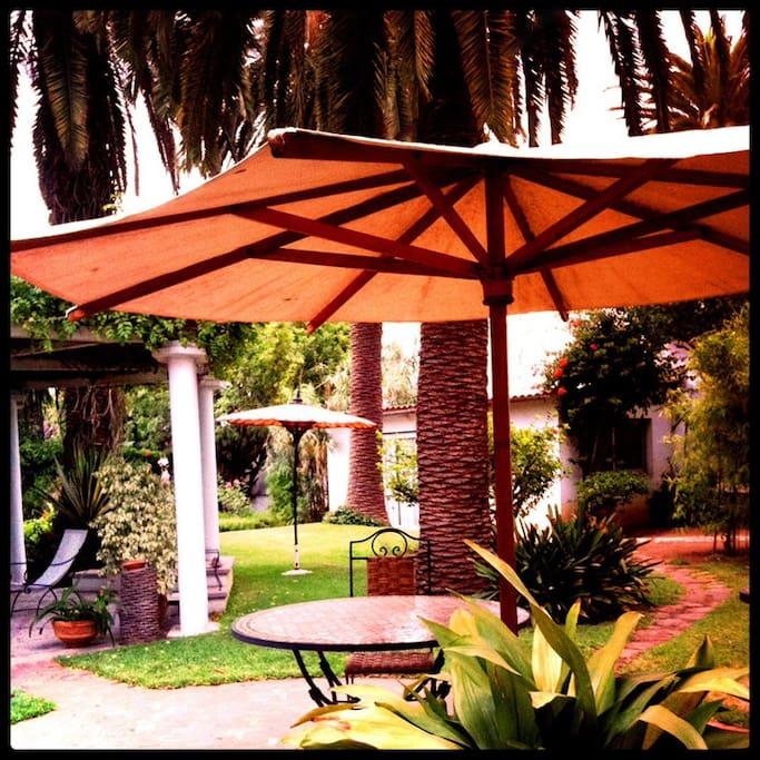 Suite dans grand jardin l 39 oasis maisons louer - Effroyables jardins michel quint resume complet ...