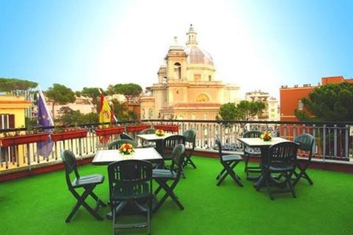 Hotel 3 stelle a Ponte Milvio