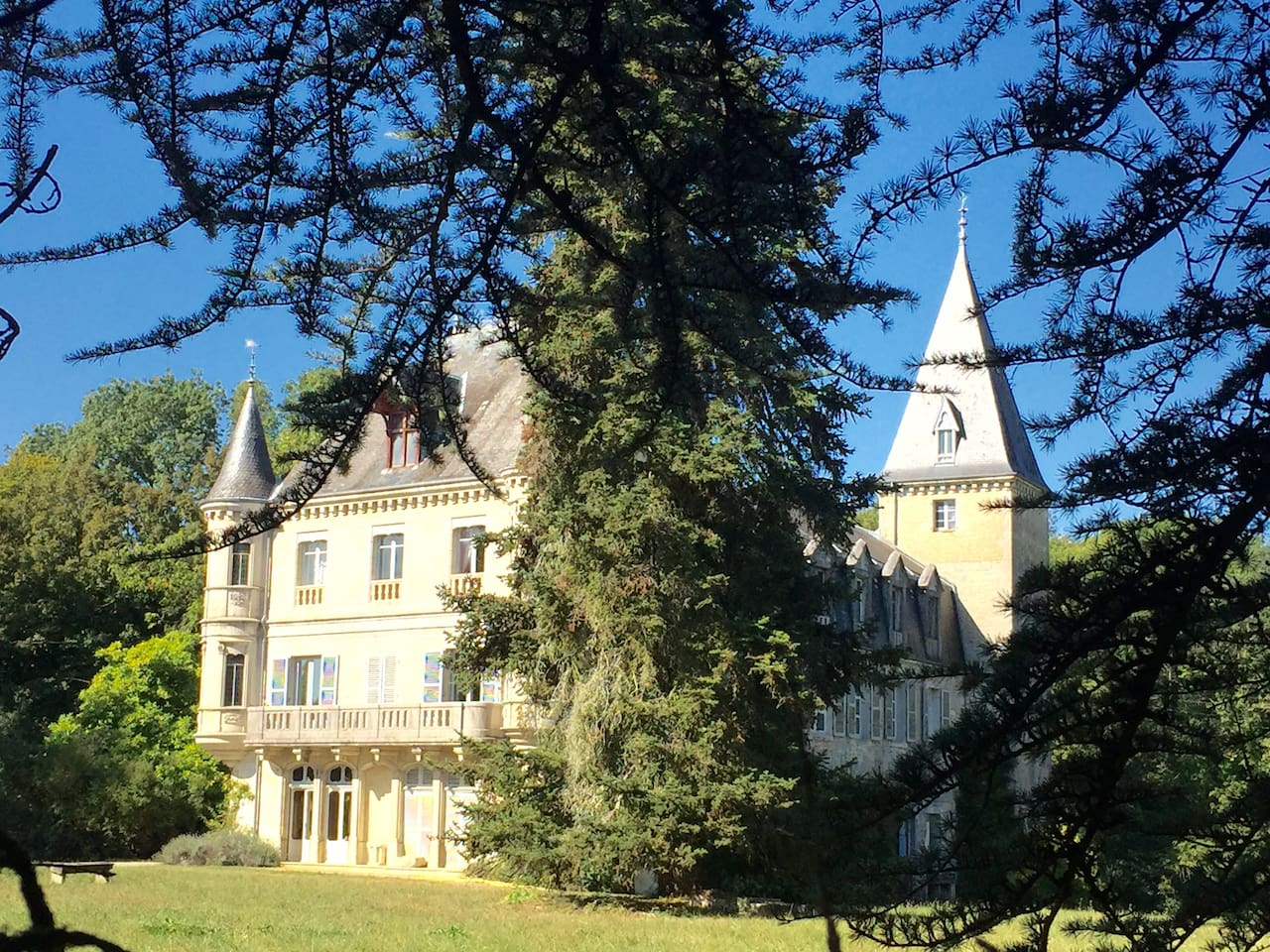 chateau de Parthey    a cultural immersion in french art ,great wines and gourmet organic cuisine
