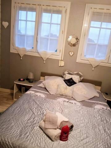 Chambres  privées  dans maison Néo Bretonne