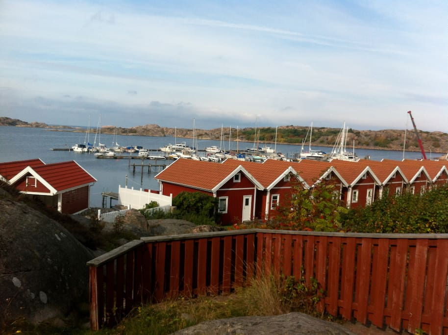 Fantastic view from privat deck