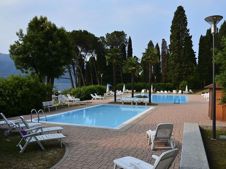 Marzia apartment in Residence with Swimming pool in Oggebbio