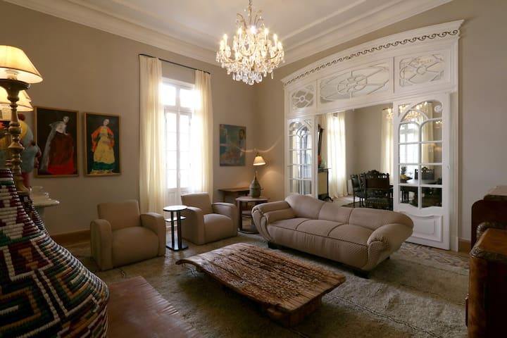 Appartement de 1910 en plein coeur de Tanger !