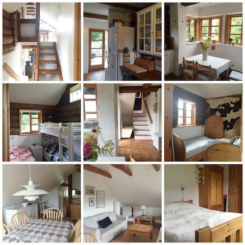 Sommerhus med sjæl i Mols Bjerge - Knebel - Blockhütte