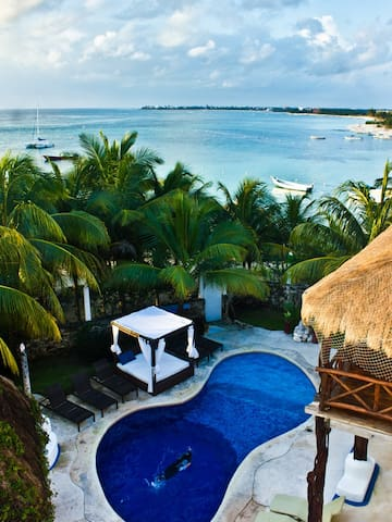 B&B Poseidon Master: Akumal Beach - Akumal - Bed & Breakfast