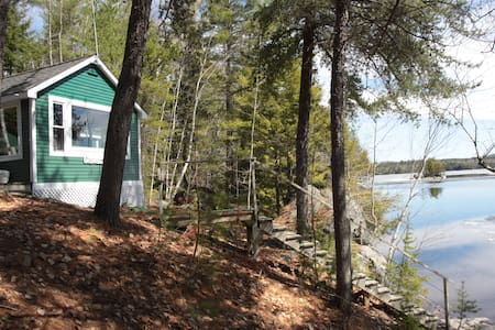 Bear's Den on Ambajejus Lake