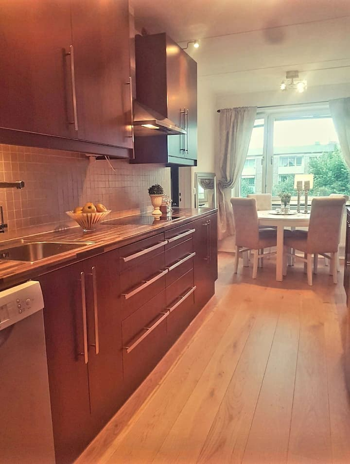 Cozy Appartment 15min From  Downtown Gothenburg