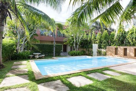 Modern 2-Bedroom Duplex with Swimming Pool