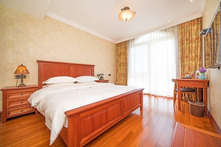 千岛湖夏家度假别墅半岛别院 美式大床房 - Hangzhou - Villa