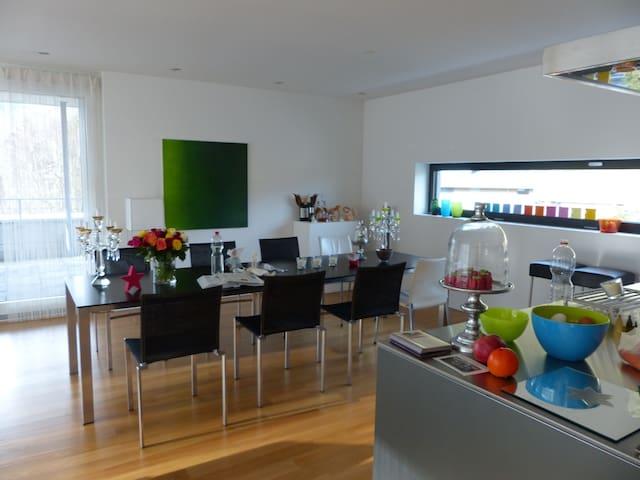 Moderne Attikawohnung /Penthouse m.120m2 Terrasse - Lucerne - Apartment