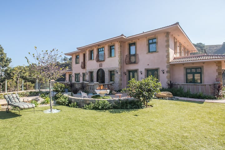 Malibu Italian Tuscany Home/Villa/ Estate
