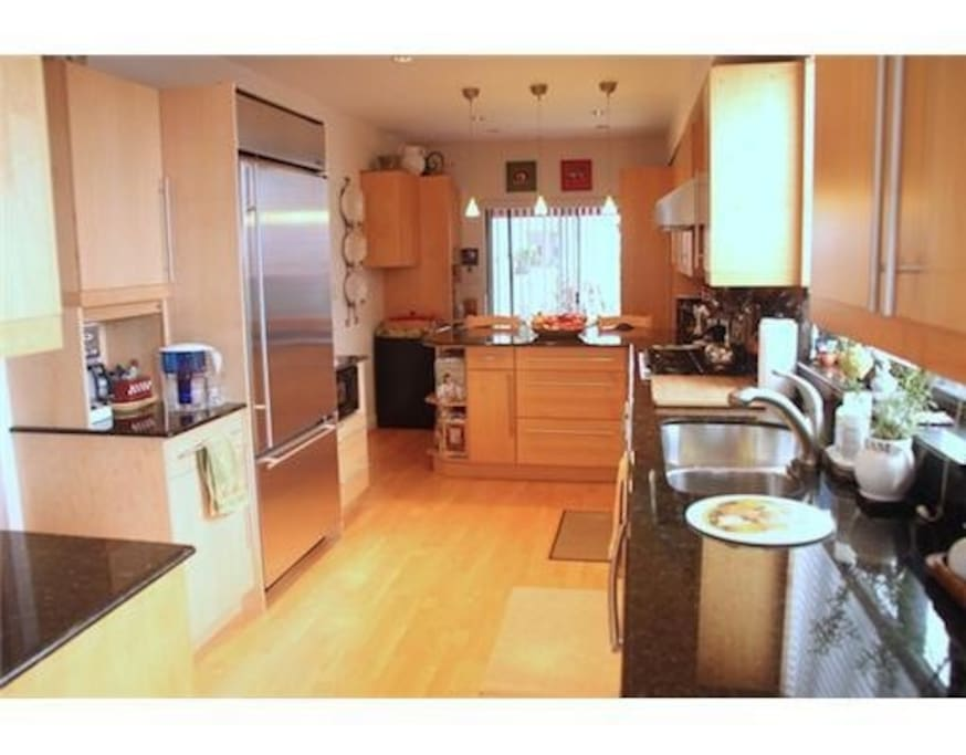 Large family kitchen for cooking and gathering