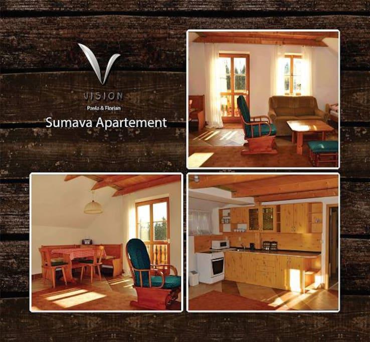 Helles und freundliches Apartment mit Balkon und Südseite
