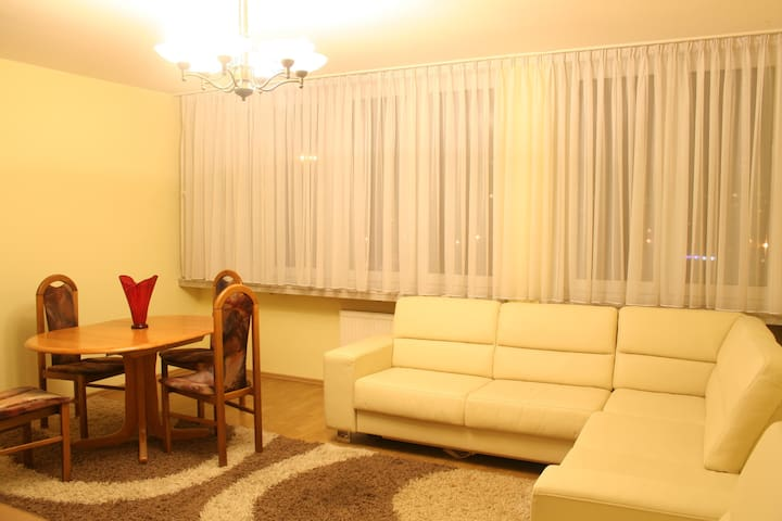 Spacious Apartment-Jerozolimskie 89 - Warsaw - Apartment