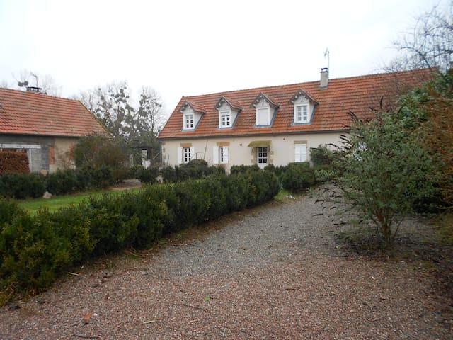 Gîte de groupe  - Contigny - Hus