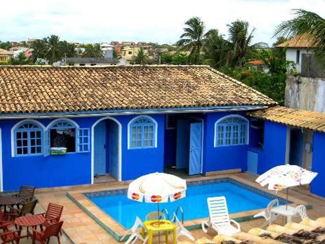 Praia  acomodação e bem estar - Lauro de Freitas - ที่พักพร้อมอาหารเช้า
