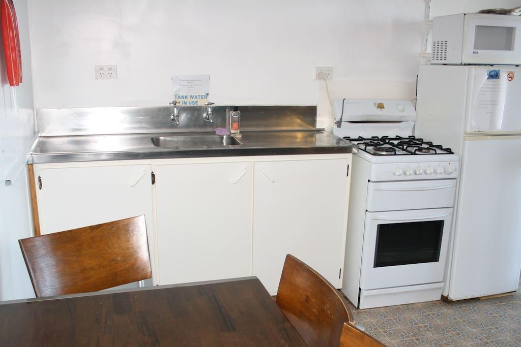 Cabin 2 - Kitchen