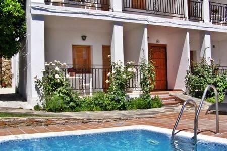 Coqueto apartamento con Jacuzzi de dos plazas - Mecina Bombarón