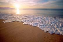 Sun-kissed beaches