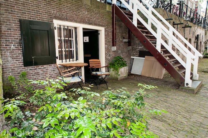 UTRECHT. Oudegracht aan de werf - Utrecht - Apartment