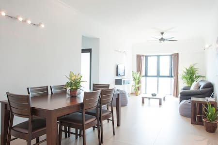 Peaceful apartment, amazing views - Kuala Lumpur - Appartement