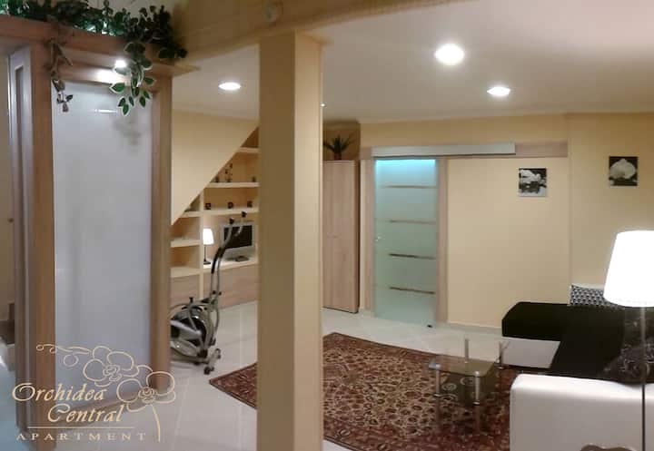 Holiday in Orchidea Central Apartment!