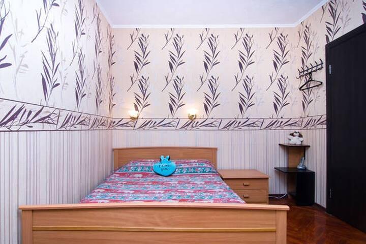 Отдельная 1-комнатная квартира на каникулы