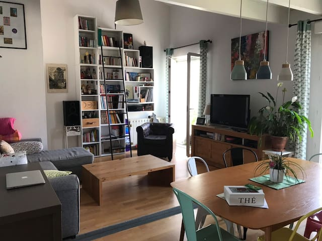 Appartement Loft dans maison de village 140 m2