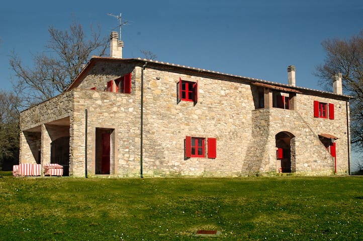 Apt. in Marvellous Country House  - Sassetta - Apartment