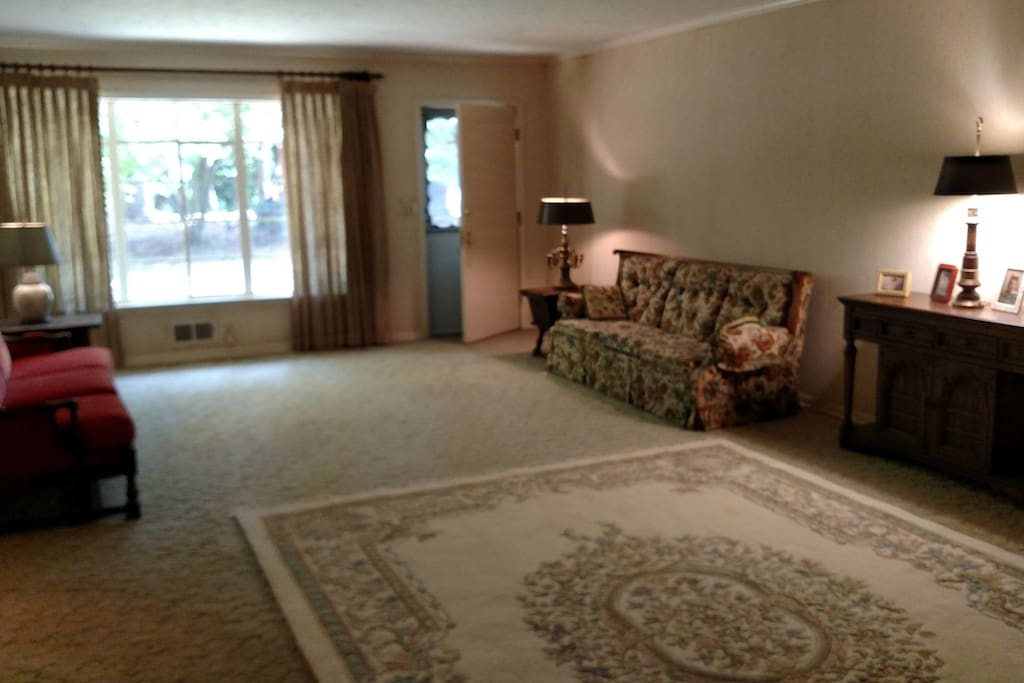 """The """"Formal Room,"""" A  HUGH space to relax and take in the views!"""