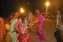 Soirée dansante au village
