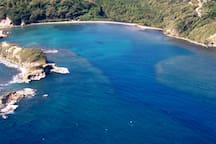 And this is Hodges Beach and islands where the river meets the sea