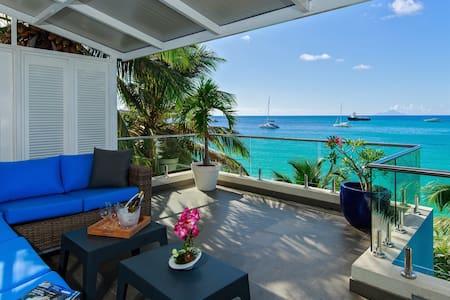 LE PAPILLON - Modern, beachfront 550sq. ft terrace