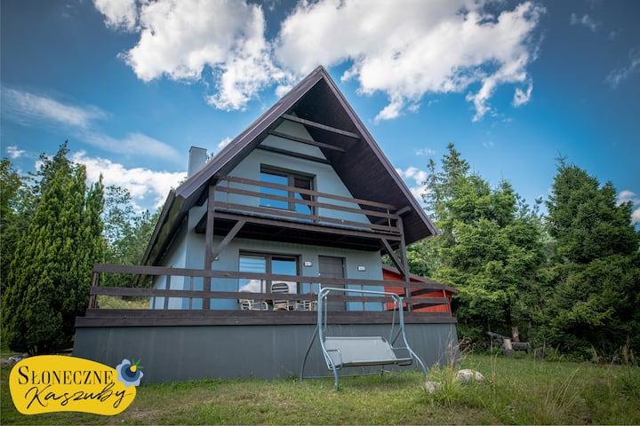 Słoneczne Kaszuby - Dom nad jeziorem Węgorzyno