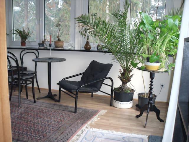 Idyllische Wohnung im Grünen
