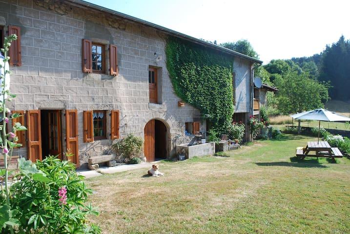 Ancienne ferme Auvergnate restaurée - Églisolles - Hus