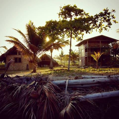 Cabaña en Portete, baño privado, Posada Sangara