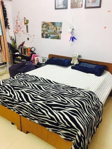 Beautiful room in a bunglow - Neu-Delhi - Haus