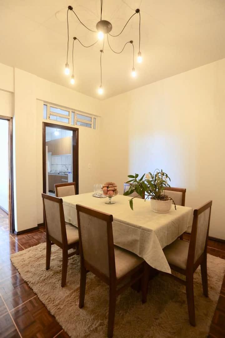 Apartamento familiar de excelente localização ap 8