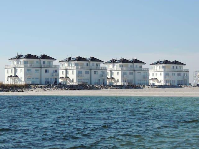 4-Zi-Ferienhaus STRAND HUS direkt am Strand - Kappeln - Rumah
