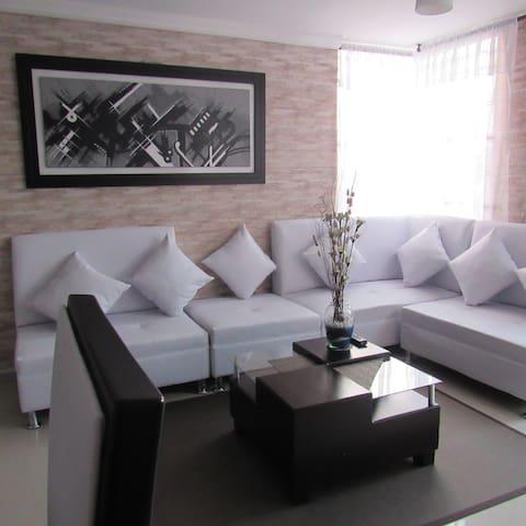 Moderno y acogedor apartamento en Pereira - Pereira - Apartamento