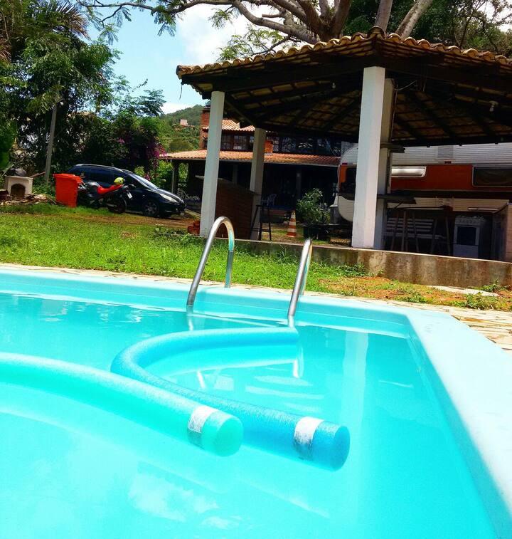 Hostel na Lagoa da Conceição dormitório masculino