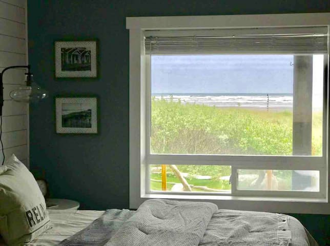 View of beach from your bedroom
