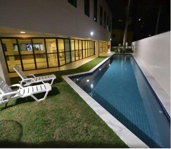 Flat Residencial Boa Vista - Recife - Servicelägenhet